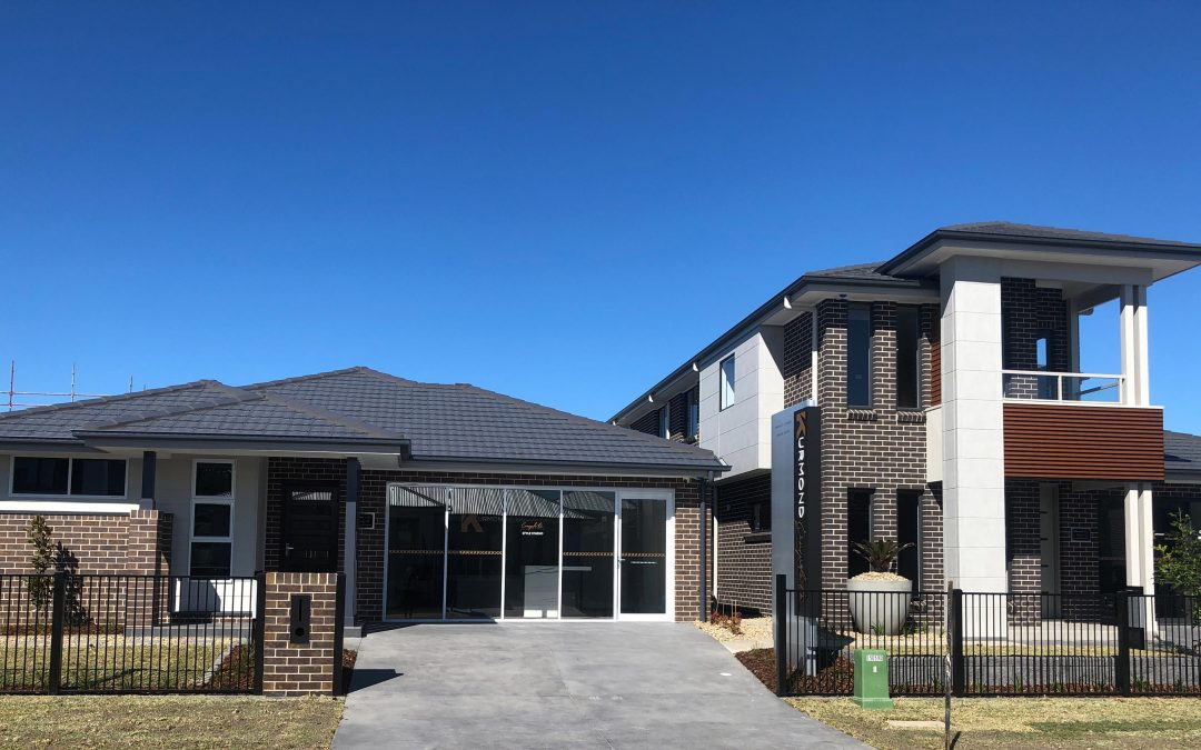 Kennedy and empire Display Homes at Box Hill